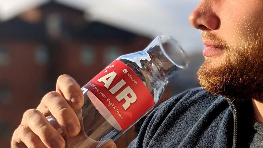 La vente d'air en bouteille de plus en plus rentable