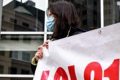 Laïcité: une loi «ridicule» scandent des manifestants