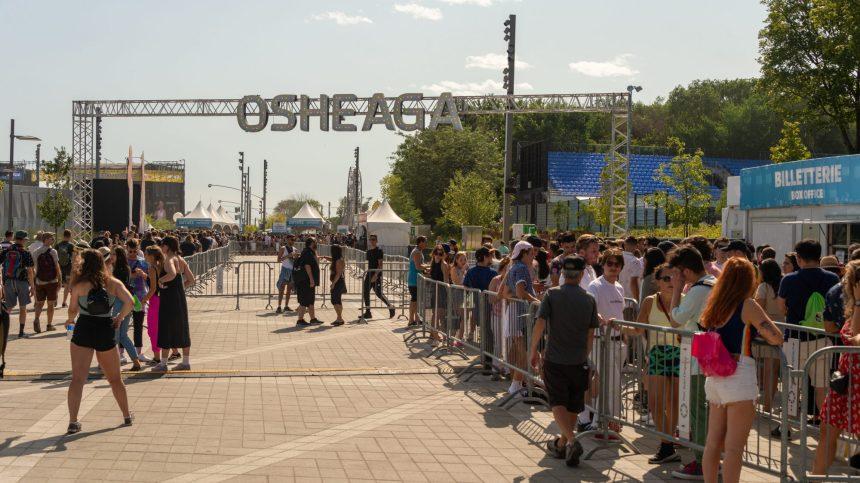 Pas de festival Osheaga avant 2022