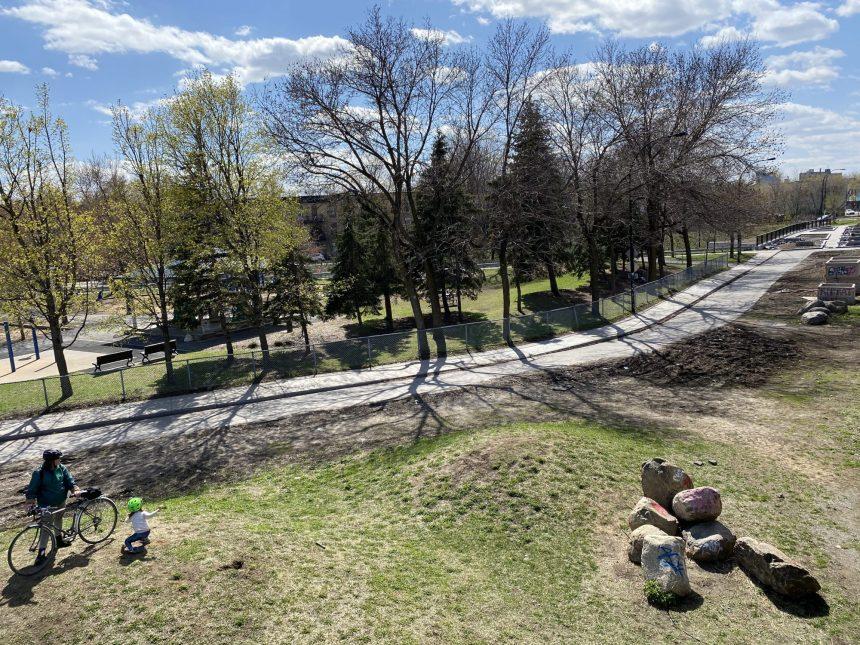 Une ancienne bretelle sera transformée en parc public dans le Mile-End