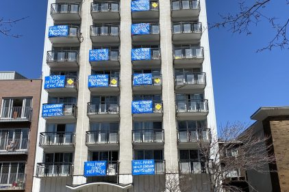 Locataires évacués: indignation dans une tour de 90 logements