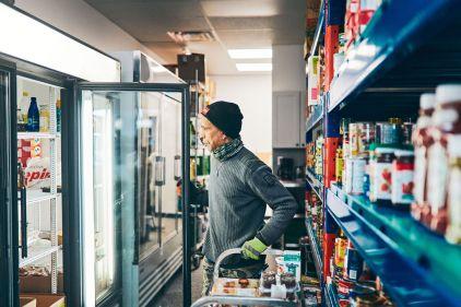 Réouverture de la banque alimentaire du FDOI