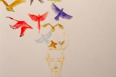 Des autoportraits aux enchères pour la santé mentale
