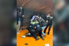 Une intervention musclée filmée dans le métro de Montréal