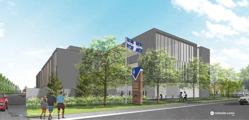 Les plans de la nouvelle école Irénée-Lussier dévoilés
