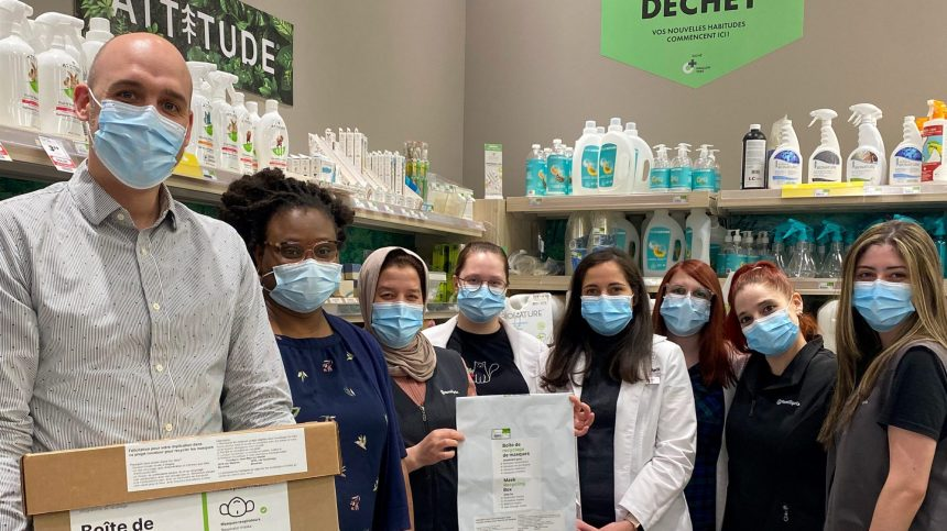 Recycler son masque à la pharmacie
