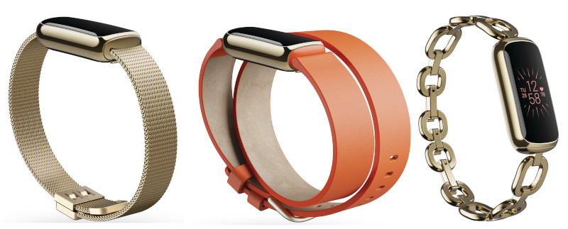 Fitbit Luxe bracelets personnalisable