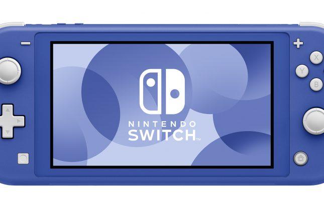 Nouveau coloris pour la Nintendo Switch Lite
