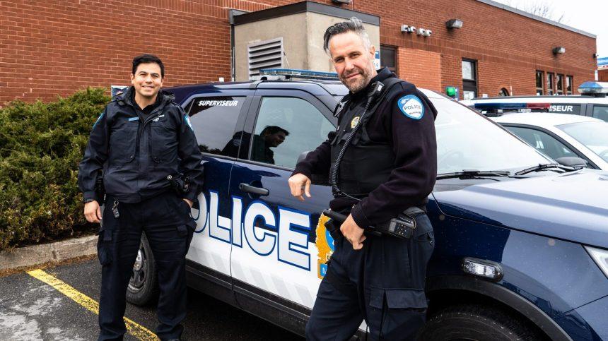 Montréal-Nord: une heure dans la vie des policiers communautaires