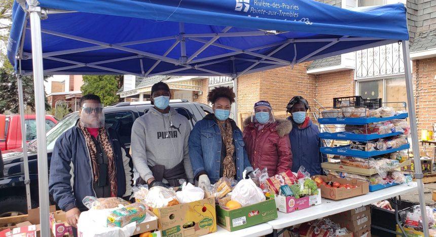 L'aide alimentaire toujours en forte demande dans l'est de Montréal