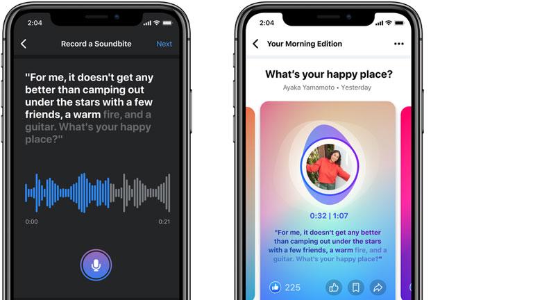 arrivée nouveau format partage facebook soundbites