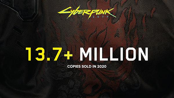 cyberpunk 2077 sales 2020