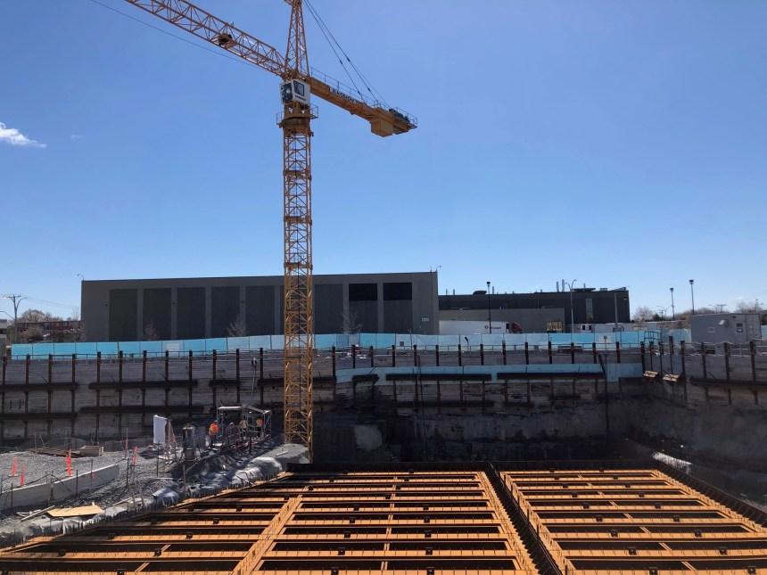 Garage Côte-Vertu : le chantier colossal de la STM