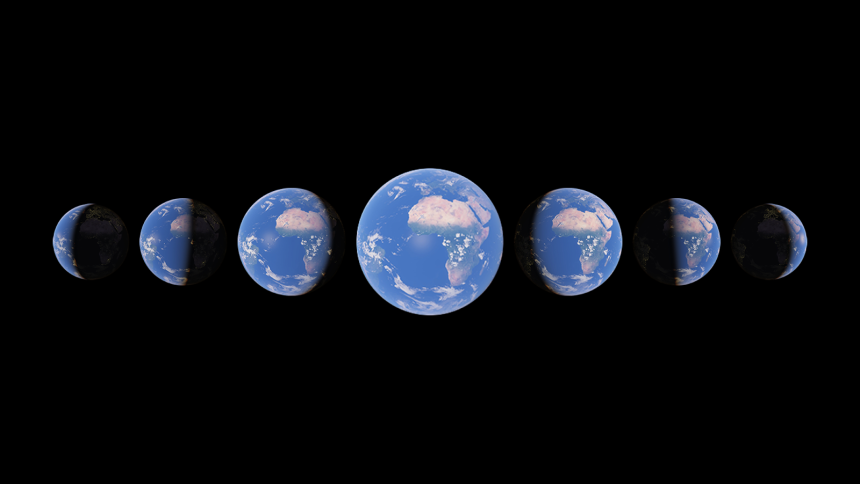 La dimension temporelle disponible sur Google Earth