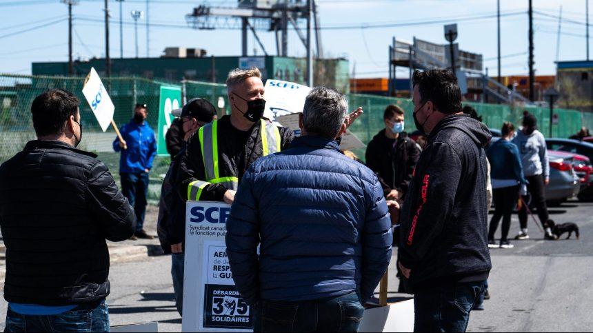 Grève au port de Montréal: la loi spéciale pour le retour au travail adoptée
