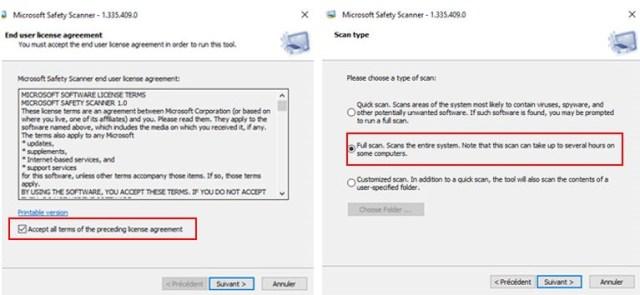 microsoft safety scanner comment installer scanner ordinateur windows 10