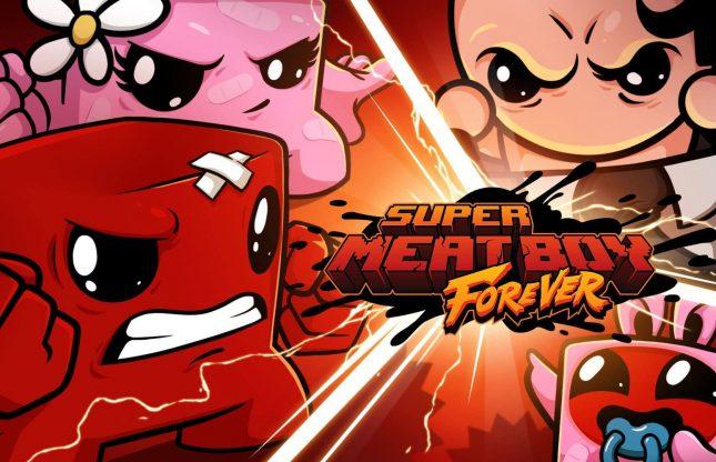 Super Meat Boy Forever : une date pour les versions PS4 et Xbox One