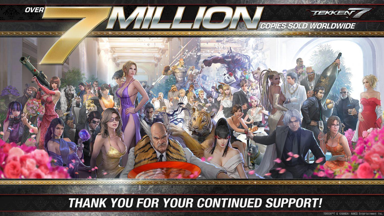 tekken 7 sept millions de copies