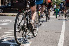 Débat autour d'un aménagement cyclable