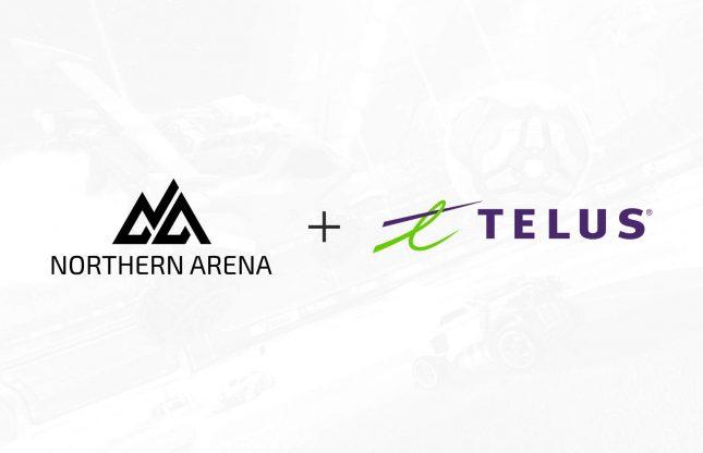 Northern Arena et Telus s'associent pour les Séries ESPORTS Telus