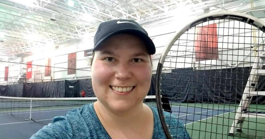 Reconnaissance pour le tennis de Natalia Lanucha