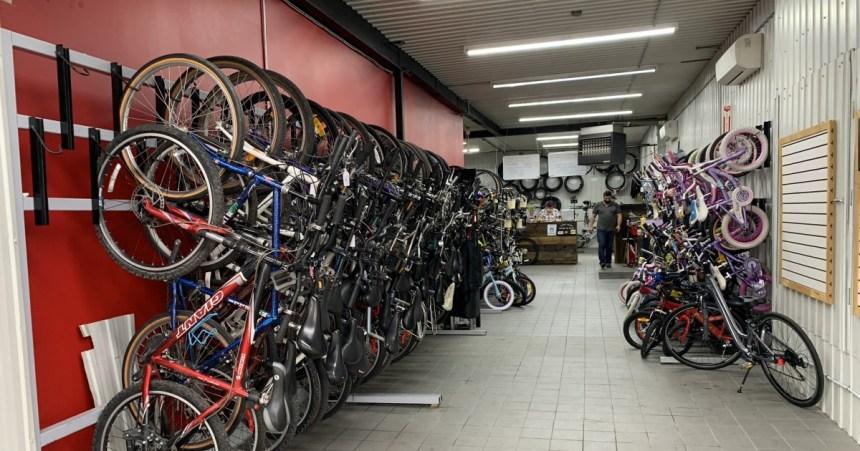 Bicyclettes: des pièces qui se font rares