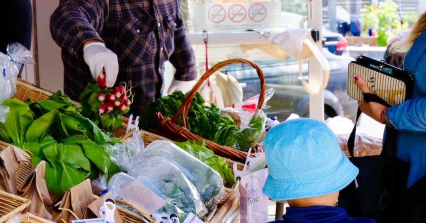 Marchés d'aliments locaux à prix abordables à Lachine