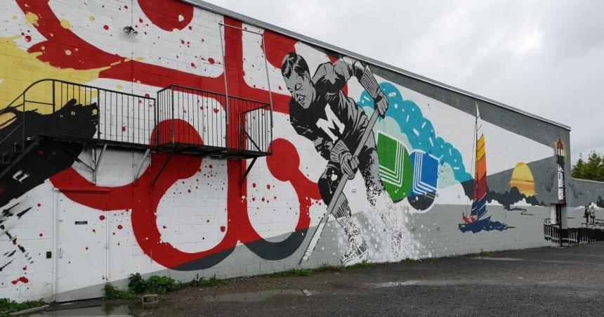 25000$ pour un projet d'art mural