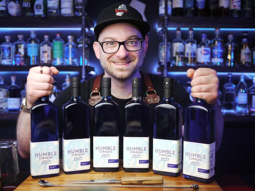 Le Barman Bruno lance Humble Curaçao