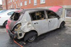 Deux véhicules incendiés dans Mercier-Hochelaga-Maisonneuve