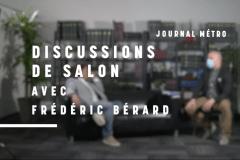 Discussion de salon avec Frédéric Bérard