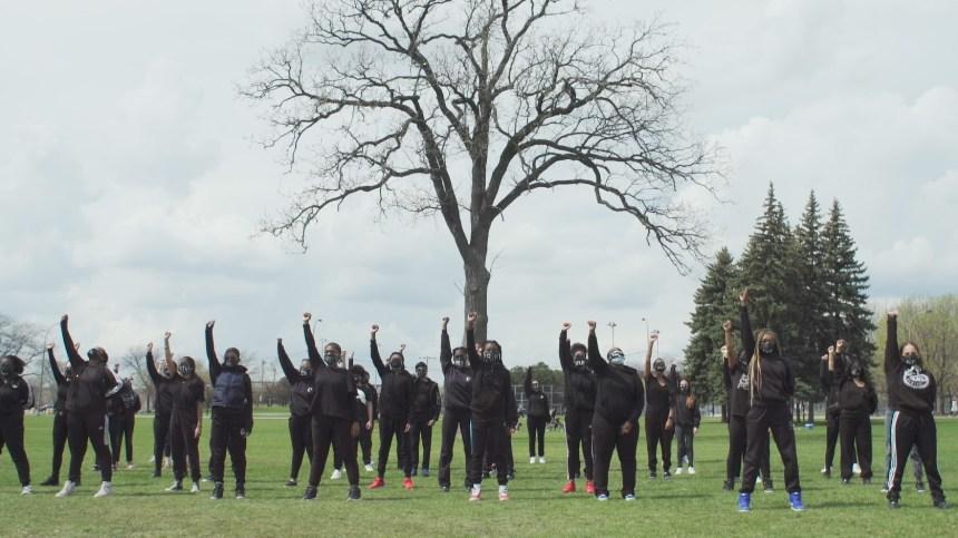 Black Lives Matter: des élèves dansent pour le vivre ensemble