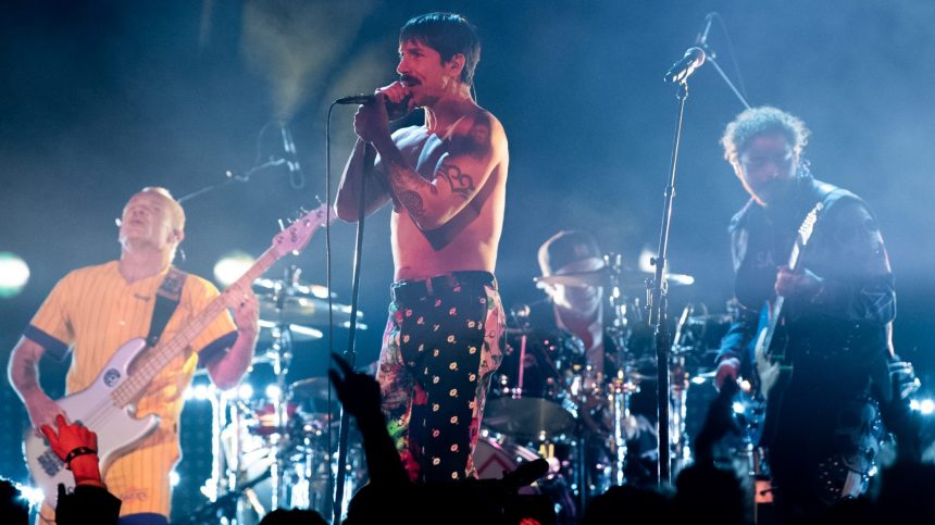 Les Red Hot Chili Peppers cèdent leur catalogue pour 140 millions de dollars