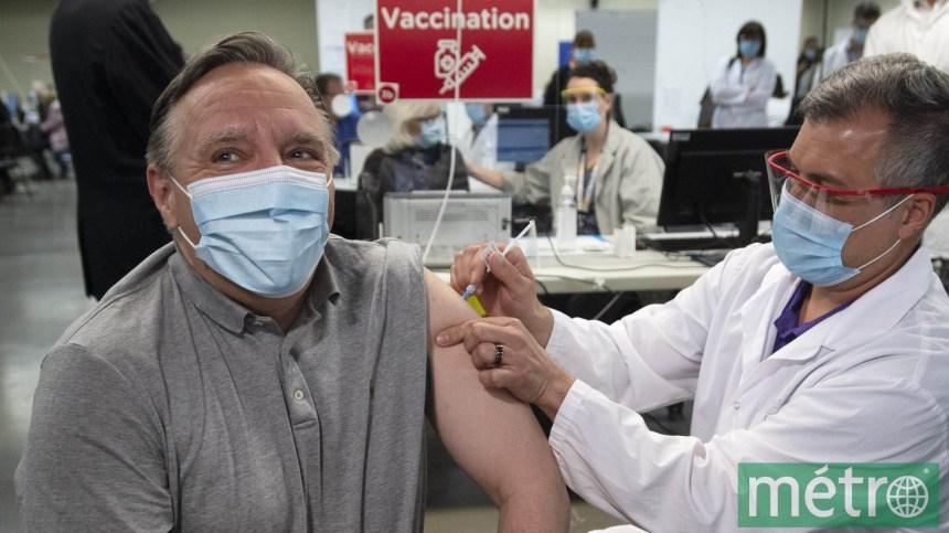 Vaccination: François Legault soigne aussi sa santé politique