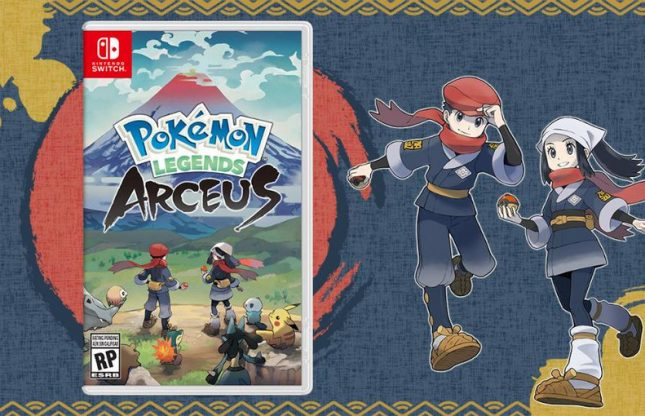 Pokémon Legends: Arceus se prépare à une sortie en 2022