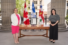 Mylène Drouin honorée pour son travail à la santé publique de Montréal