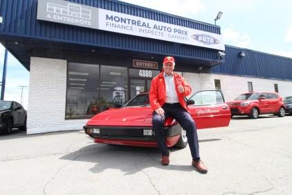 Un habitant de Saint-Léonard possède l'une des voitures de Gilles Villeneuve