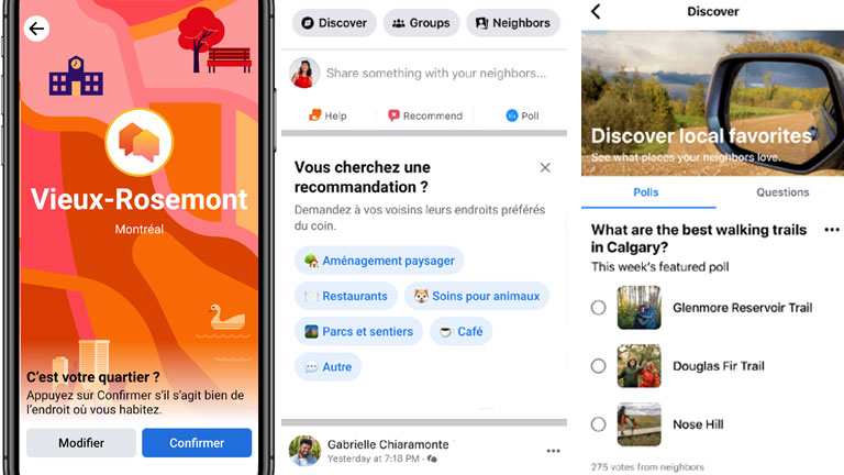 aperçu facebook quartiers mobile