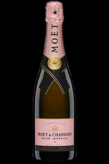 Bouteille de champagne Moet & Chandon rosé imperial brut