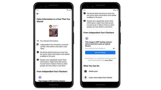 nouvelles notifications améliorées partage article non fondé