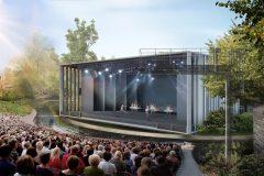 Le théâtre de Verdure du parc La Fontaine de retour en juin 2022