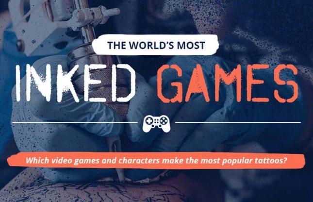 Tatouages de jeux vidéo en 2021 : le classement mondial