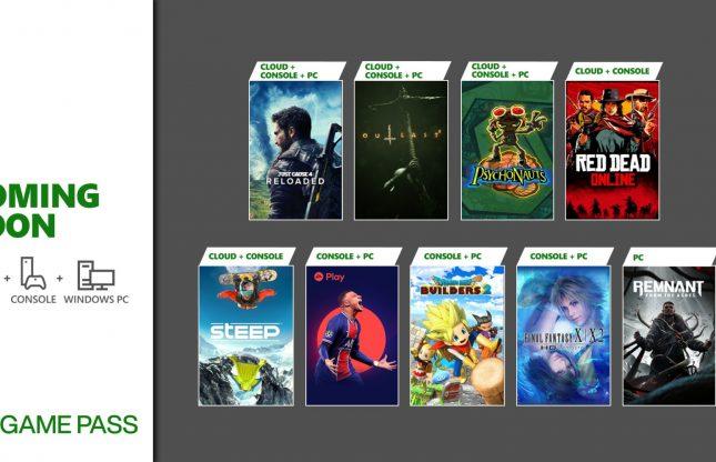 Xbox Game Pass : plusieurs ajouts en mai