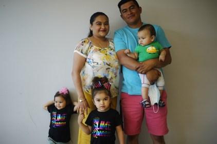 Un nouveau départ pour la famille Rosas Cabrera