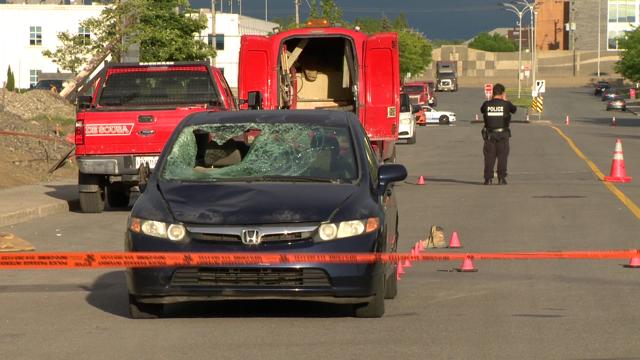 Un piéton tué par une voiture à Anjou