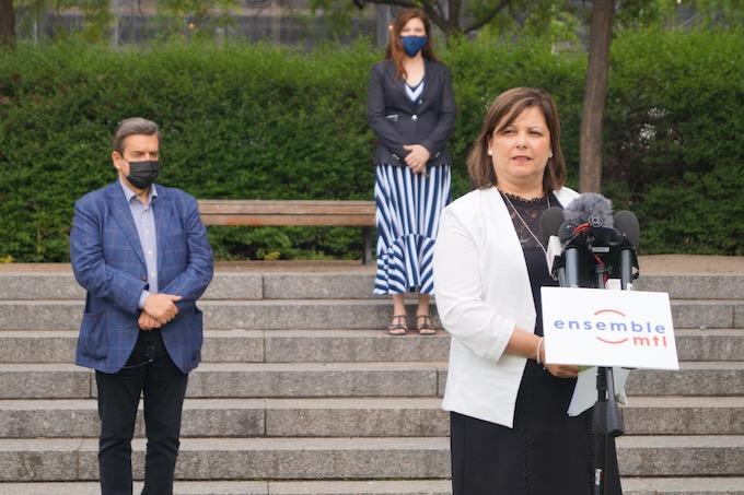 Lyne Laperrière, le nouveau visage d'Ensemble Montréal pour la mairie de RDP-PAT