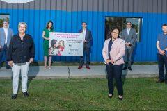 RDP répond présent à l'ouverture du nouveau centre de vaccination