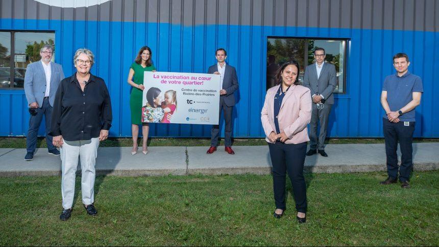 Ouverture Centre vaccination TC Energir
