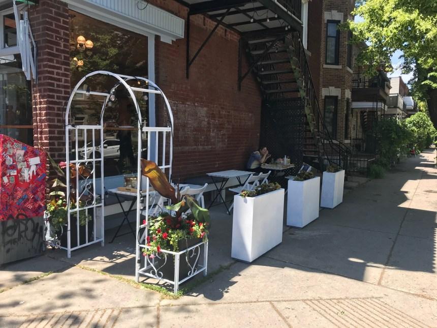 Réouverture des terrasses dans le quartier Villeray