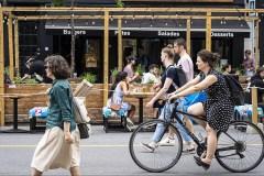 Piétonnisation de l'avenue du Mont-Royal: les jardins à l'honneur